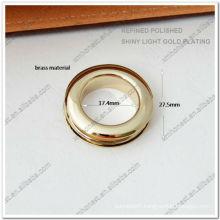 Brass handbag eyelet