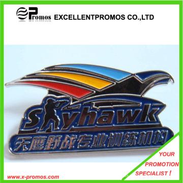 Fördernde kundengebundene Farbe graviertes Metallabzeichen