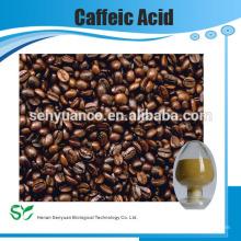 Fonte do fornecedor do fabricante Extracto da planta ácido Caffeic puro