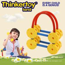 Образовательные игрушки для дома из формообразующих блоков для 3-6 детей