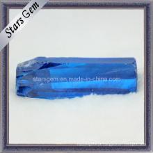 Ocean Blue CZ Áspero / Matéria-Prima, Zircônia Cúbica Áspero