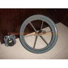 aro de metal para rodas de borracha, rodas de carrinho de mão, roda de carrinho, roda do caminhão de mão