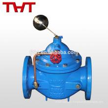 válvula mecánica de control de nivel de agua del flotador de bola