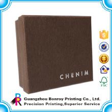 Гуанчжоу завод высокое качество пользовательские элегантный дизайн логотипа печать бумага ручной работы коробки