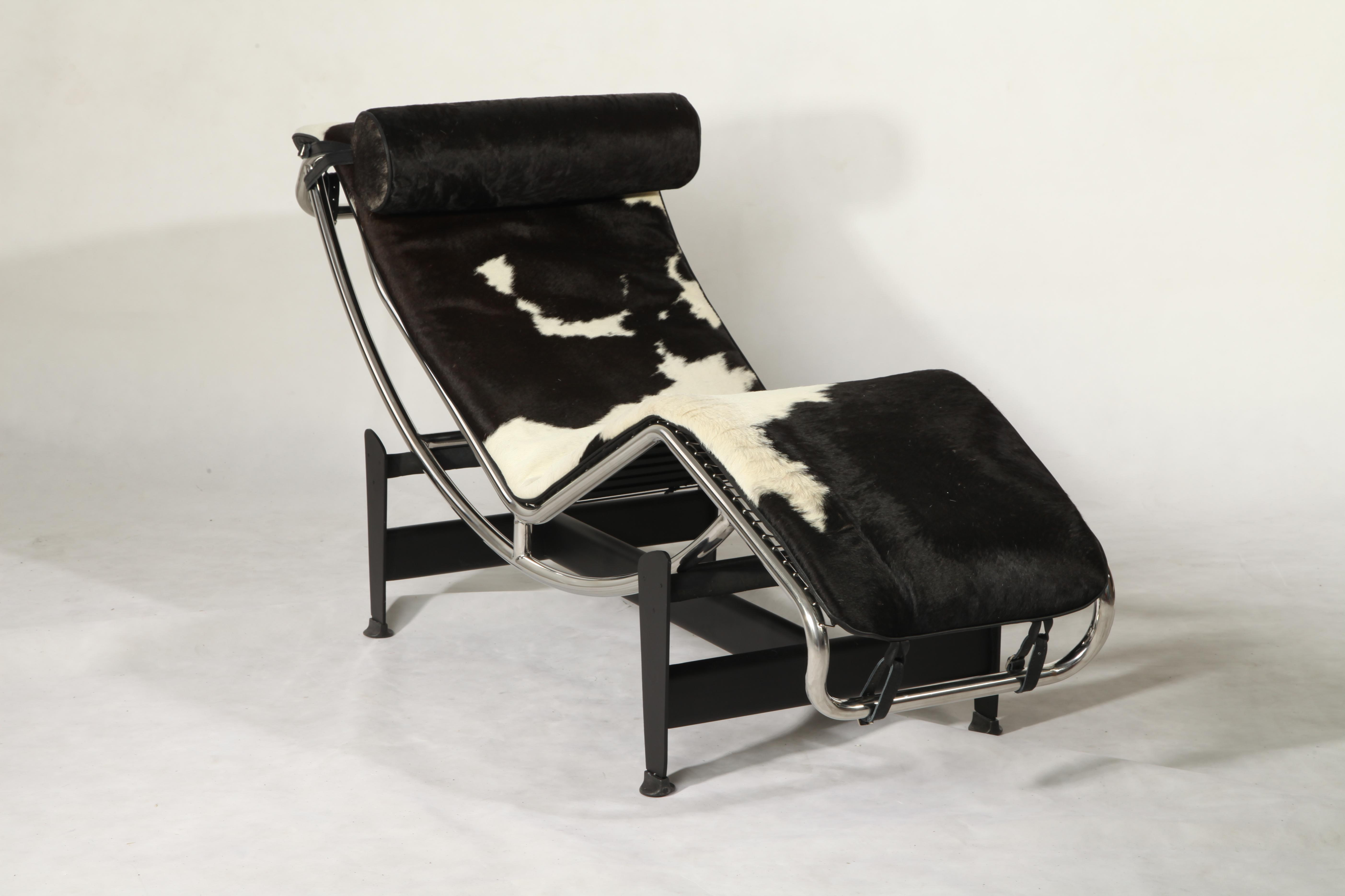 LC4 cowhide chair replica