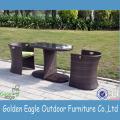 Popular SGS PE rattan garden leisure chair
