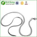 Collar de cadena de serpiente plano último diseño collares