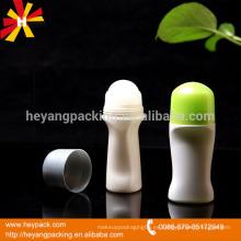 Rodillo plástico de 50ml en las botellas al por mayor
