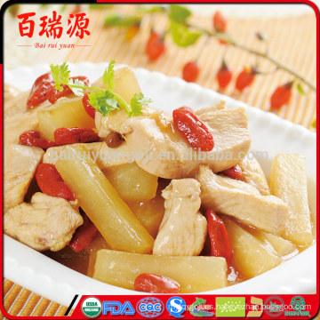 Reduce el peso seco de bayas de goji bayas de Goji bayas listo para ser servido