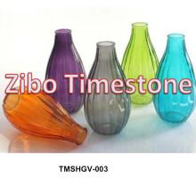 Heißer Verkauf Farbige Günstige Glas Blumenvasen