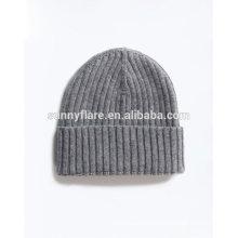 Sombreros de gorrita tejida al por mayor del invierno de la alta calidad del punto de la cachemira