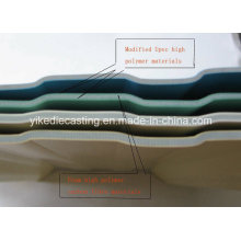 Best Selling 3-Layer Isolamento Térmico UPVC Material de Cobertura