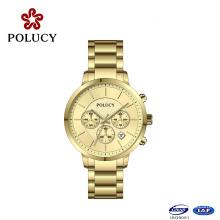 Chronograph Metal Watch Custom Design Watch