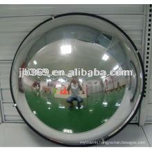 50cm 1/4 dome mirror, 90 degree acrylic safety dome mirror