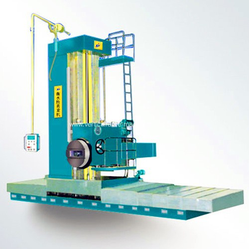 Floor type boring milling machine