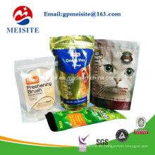 Bolsa de plástico de grado alimenticio para alimentos para mascotas
