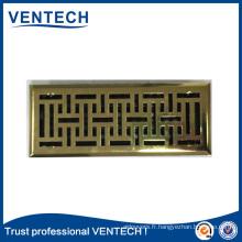 Grille d'air de plancher de produit de marque pour l'usage de ventilation
