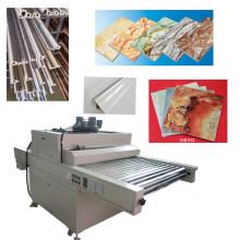 TM-UV-Dp placas decorativas madeira de mobília de madeira máquina de cura por UV curado revestimento do assoalho