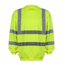 Hivis Reflektierendes Sweatshirt 100% Polyesterfleece