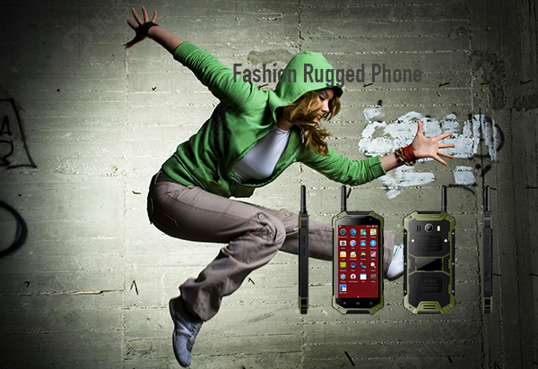Fashion Rugged Phone