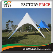 Aluminum Star shade tent with clear window for wedding events (diameter 10m)