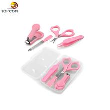 4 Stück für Kleinkind und Kinder Kunststoffkoffer Baby Care Grooming Kit Nagelknipser Set