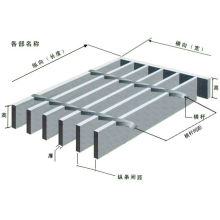 Welded Steel Bar Grating for Stair Treads