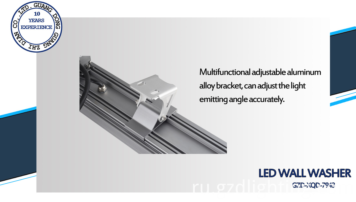 outdoor led linear wall washer
