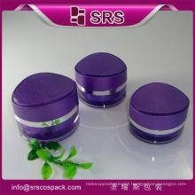 Sunresi product plastic jar, eye shape cream jar for face cream