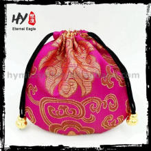 New fashional satin hair wig pouch with high quality