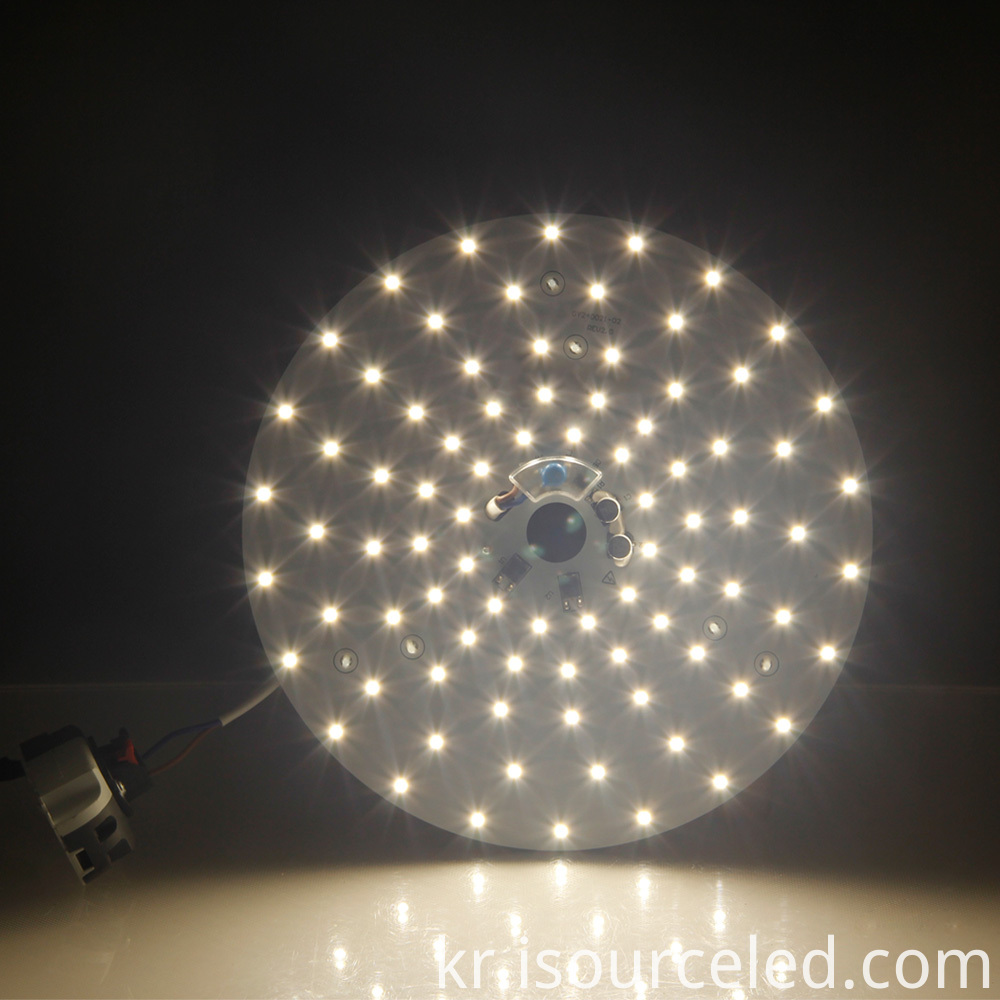 Luminescent Chart of smd 2835 Warm white 24W AC LED Module