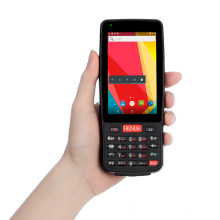 Escáner de código de barras PDA Android robusto de mano