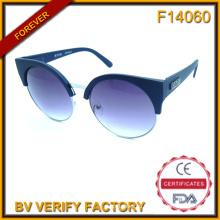 F14060 Моды металла с пластиковые солнцезащитные очки как новейшие продукты в рынке