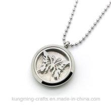 Stainless Steel Color Prefume Necklace Locket