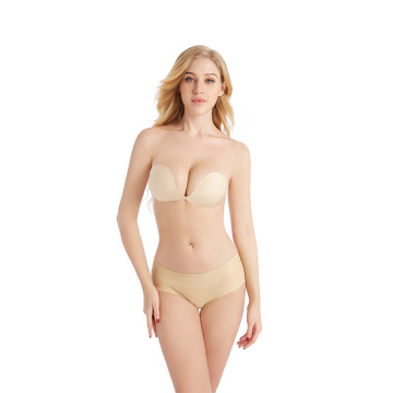 Reggiseni push up invisibili in silicone intimo donna