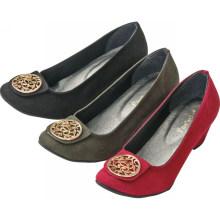 Novo estilo mais vendidos de calçados de salto alto mulheres sapatos casuais