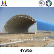 Prefabricated steel structure space frame roofing
