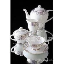 15pcs new design royal bone china coffee set paper coffe cup