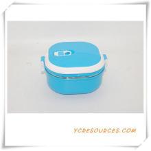 Kunststoff Edelstahl Lunch Box für Werbegeschenke (HA62015)