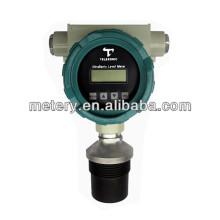 Ultrasonic liquid water level sensor