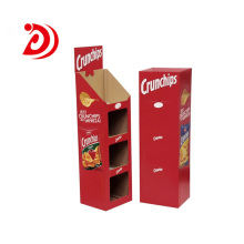 ​Supermarket paper ladder floor display stand