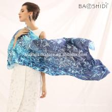 La bufanda al por mayor del cuello diseña la bufanda de la alta calidad del diseño de la bufanda de la manera