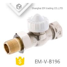 ЭМ-Фау-B196 никелированная Латунь клапан радиатора