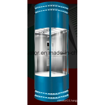 Vvvf Control Panoramic Elevator with Germany Technology