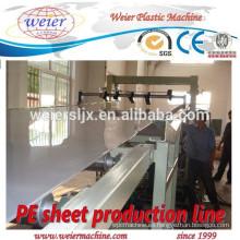 1200mm de ancho de máquina de producción de hoja de PP PE