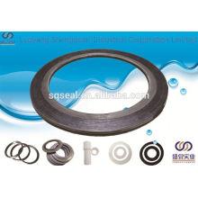 Joint en spirale de tuyau d'acier de fonte