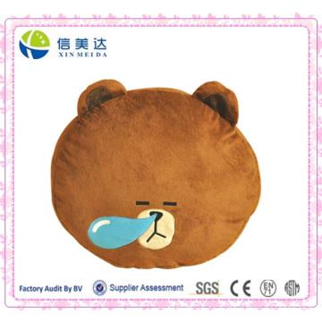 Nettes schlafendes Snot-Bärn-Kissen-Plüsch-Spielzeug