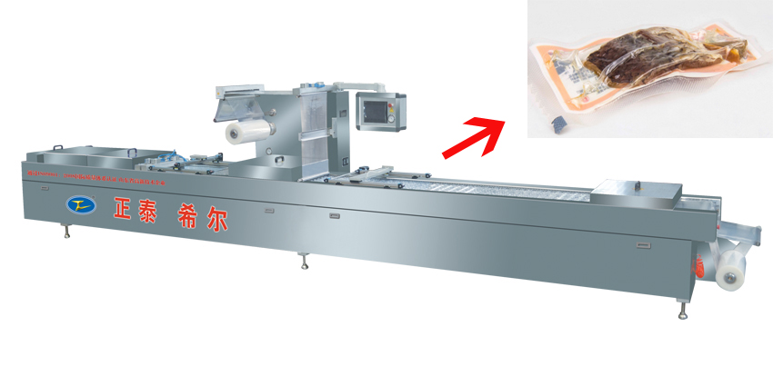 Fish Automatic Stretch Film Vacuum Packing Machine