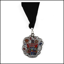 Medalha de níquel e fita, medalha de esmalte (GZHY-JZ-017)
