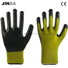 Нитриловые покрытые защитные рабочие перчатки безопасности (U203)